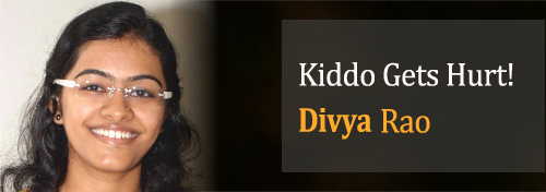 Kiddo gets hurt by Divya Rao