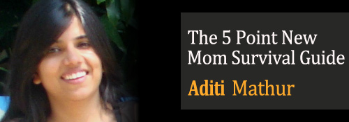 The 5 Point New Mom Survival Guide