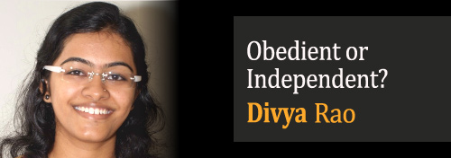 Obedient or Independent?
