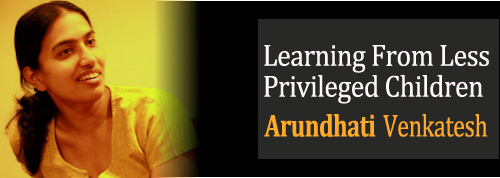Learning From Less Privileged Children