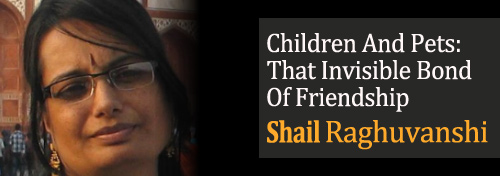Children And Pets: That Invisible Bond Of Friendship