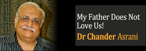 My Father Does Not Love Us! - Parental Influence On Kids Behaviour
