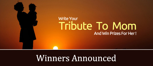 tribute to mom contest Winners announced