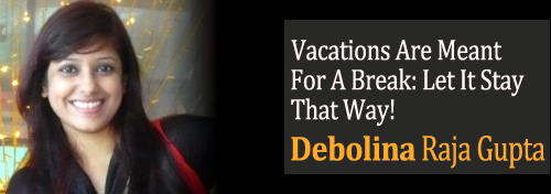 Vacations Are a Break for children