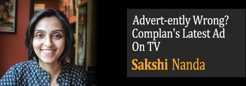 'Advert-ently Wrong? Complan's Latest Ad On TV - Ads Are Misleading