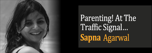 Parenting! At The Traffic Signal - Organised Begging - Teaching Kids Poverty