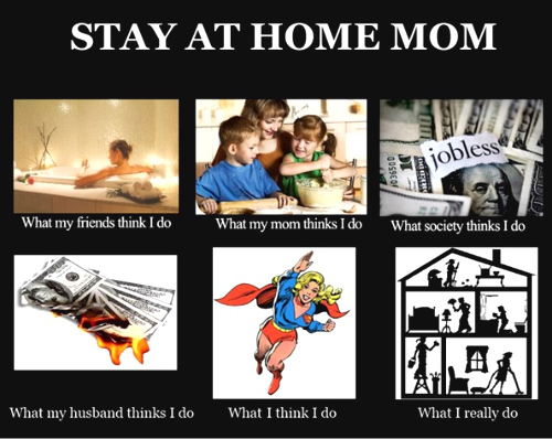 Misconceptions About Stay-At-Home-Moms