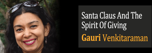 Magic Of Santa Claus And The Spirit Of Giving