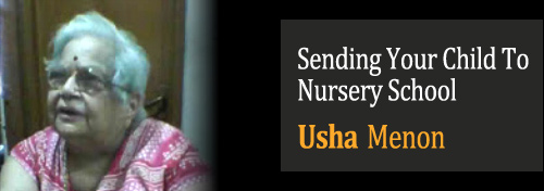 Sending Your Child To Nursery School