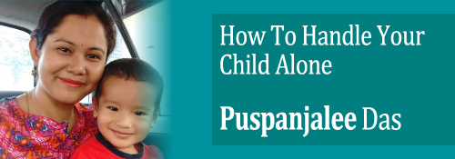 handling child alone
