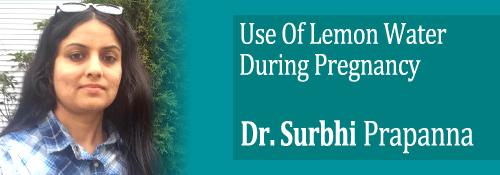 lemon water benefits by dr surbhi prananna