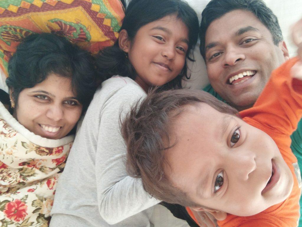Jamshed rajan family