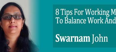 swarnambal's tips for woking moms