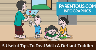 defiant toddler infographic